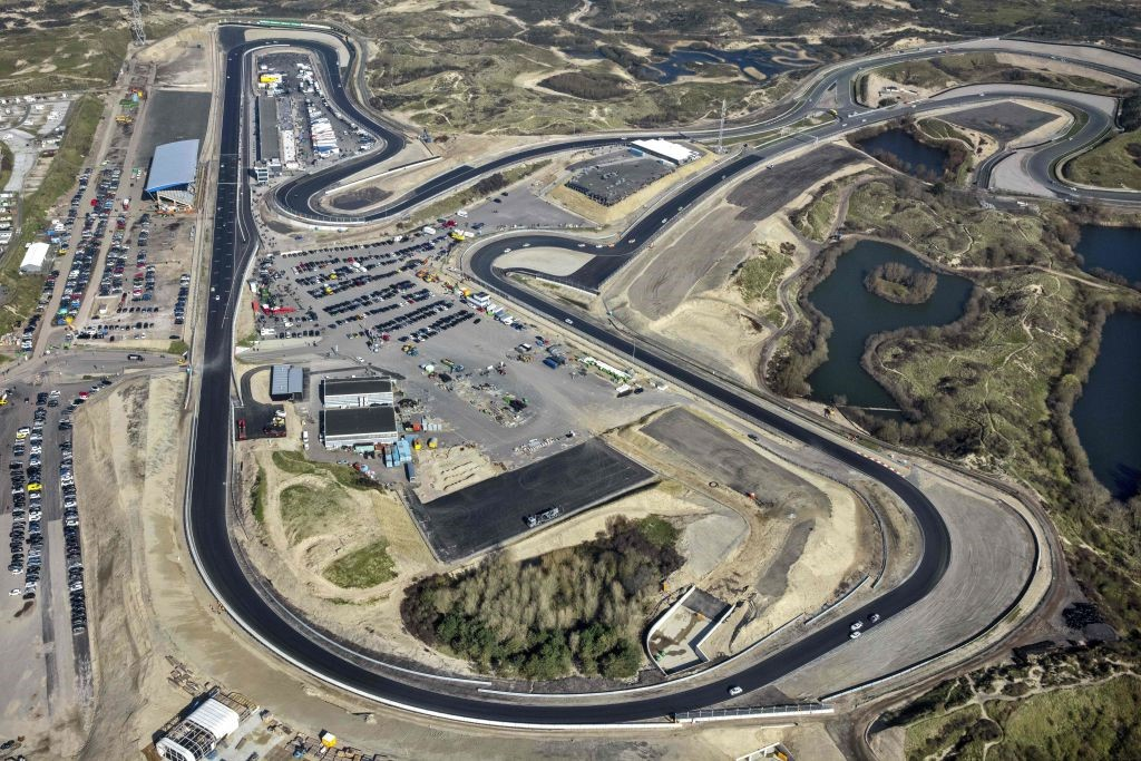 Le circuit de Zandvoort le 7 mars 2020