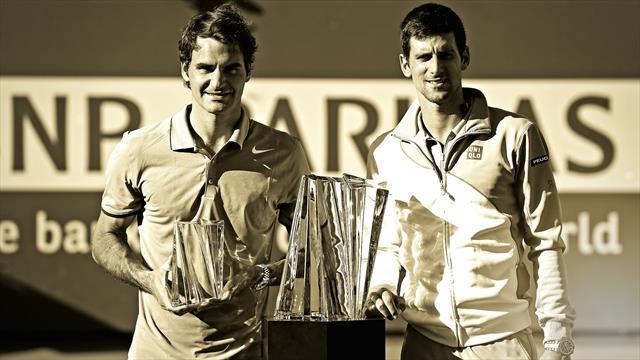 Indian Wells vintage : Djokovic - Federer 2014, savoureux sommet dans le désert