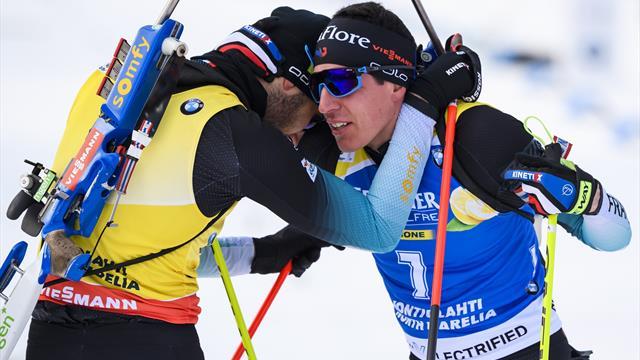 51 podiums, des Mondiaux de rêve et un bouquet final : l'exceptionnelle cuvée du biathlon français