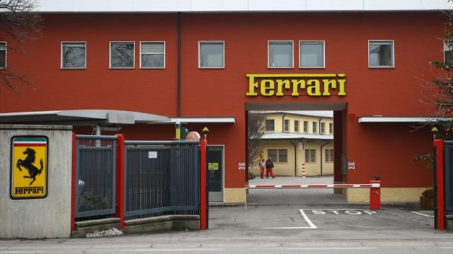 Ferrari shutting down operations in Italy