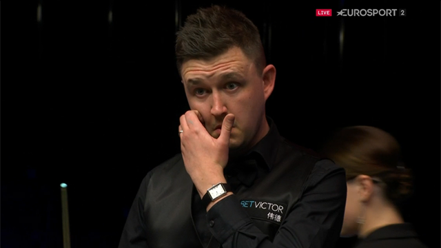 Embarrassed Wilson apologises after fluked brown wins him the frame