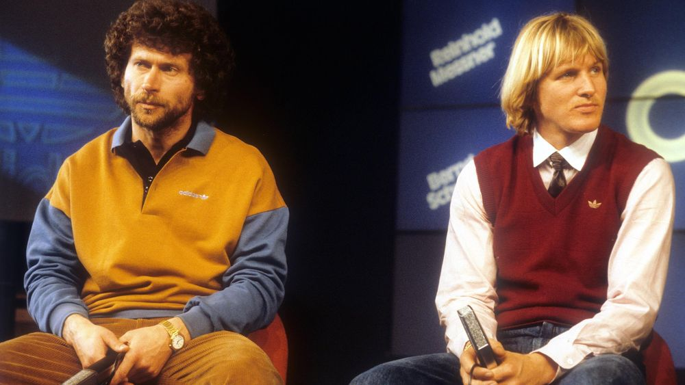 Paul Breitner et Bernd Schuster, au sommet du swag des 80's.