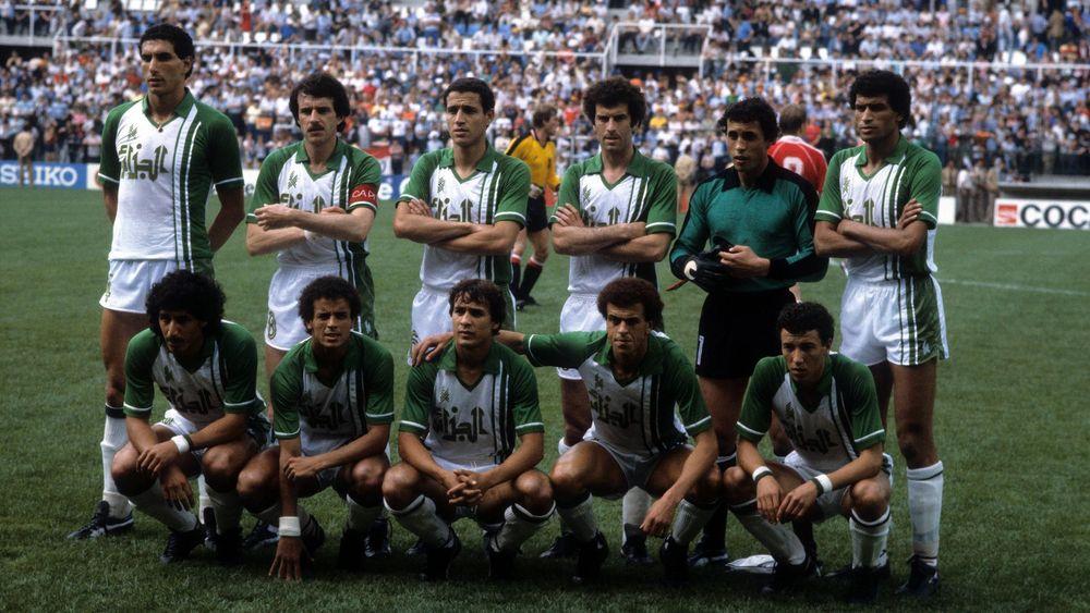 La superbe équipe algérienne des années 80.