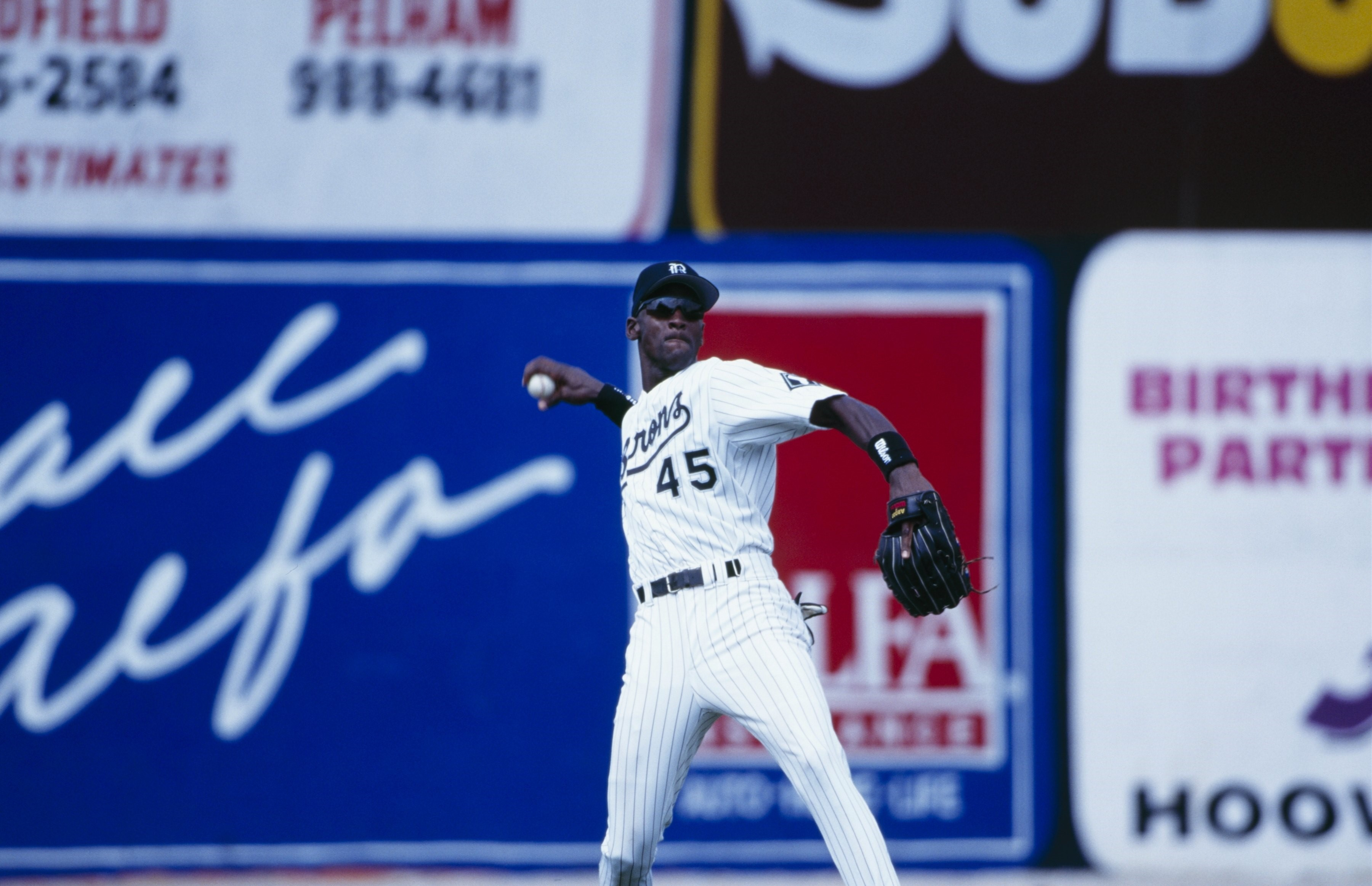Michael Jordan au baseball
