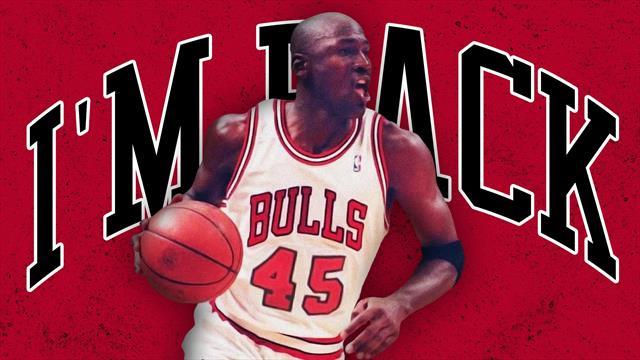 """""""I'm back"""" : il y a 25 ans, Jordan revenait aux affaires"""