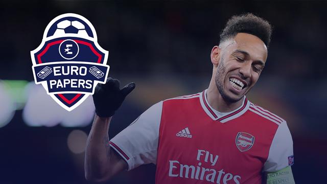Arsenal 'name price' for Barca target Aubameyang - Euro Papers