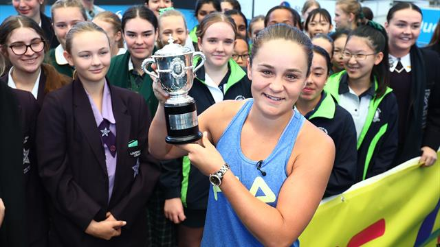 I'll defend French Open title whenever it's played - Barty