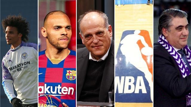 Sané, Braithwaite, Tebas, NBA y Lorenzo Sanz, los nombres del día