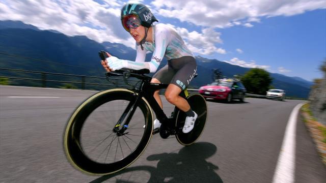 Swiss pro rider swaps racesuit for doctor's uniform on coronavirus frontline