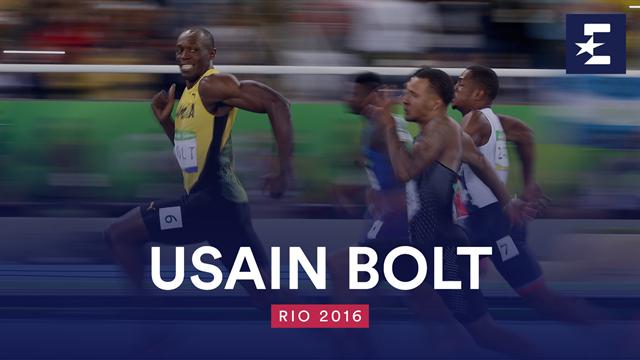 El día que Usain Bolt se hizo eterno: su oro en los 100 metros de Río 2016