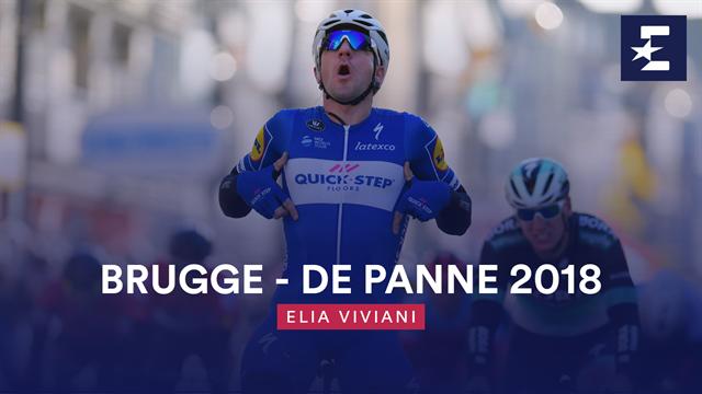 The Day When... Elia Viviani vinse la Brugge-De Panne con una volata perfetta