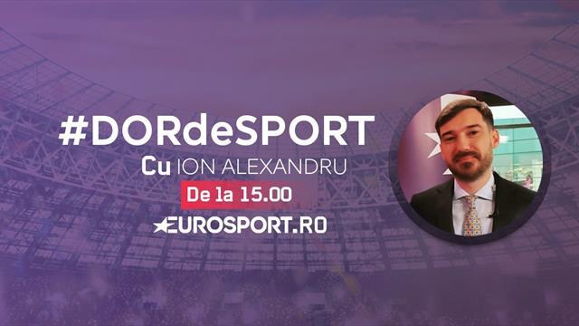 #DORdeSPORT Ion Alexandru vorbește despre etapa care trebuia să aibă loc în acest weekend în Anglia