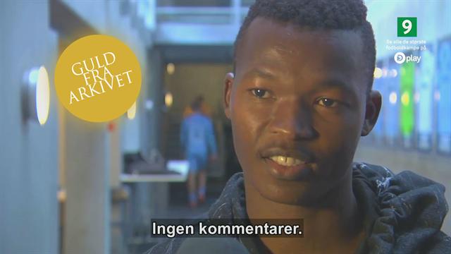 Guld fra arkivet: Interview med vred Masango, der gerne vil væk fra Randers
