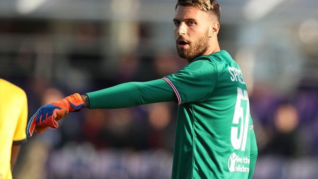 Marco Sportiello, primul jucător al echipei Atalanta depistat pozitiv cu COVID-19