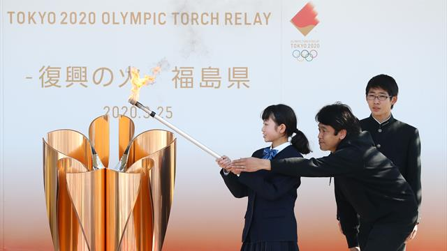 Feierliche Entzündung an schicksalsträchtigem Ort: Das Olympische Feuer brennt