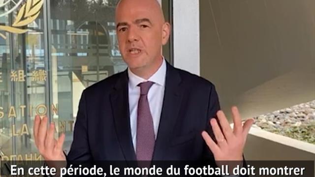 """FIFA - Infantino : """"Remporter ce match contre le coronavirus"""""""