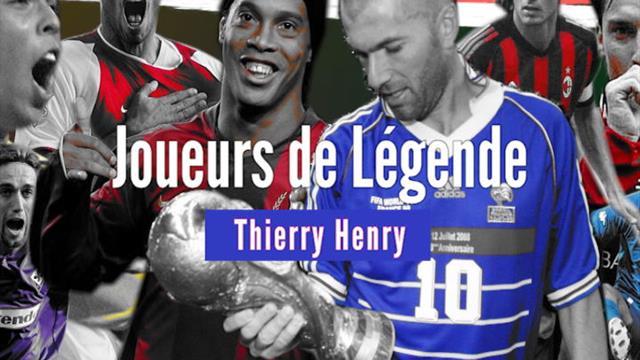 """Joueurs de Légende - """"Titi"""" Henry, roi d'Arsenal"""