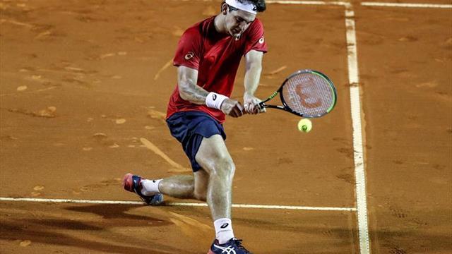 Thiago Wild, la sensación del tenis en Brasil, confirma contagio de COVID-19