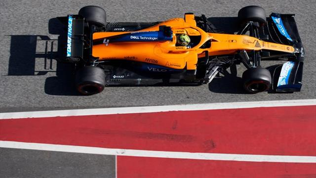 Los miembros del equipo McLaren aislados por coronavirus regresan a sus casas