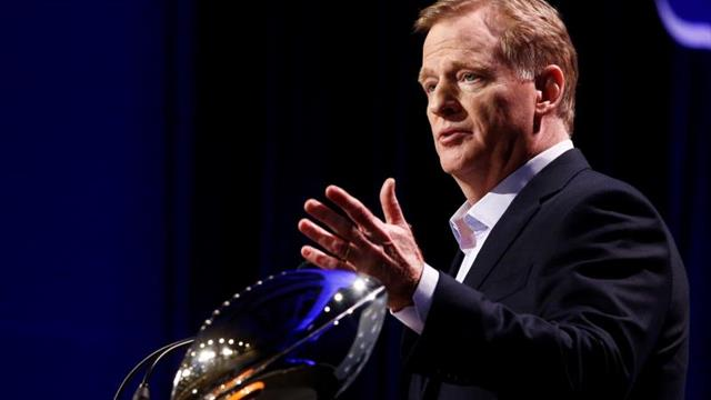 El comisionado Goodell advierte que no permitirá crítica a la programación de la NFL