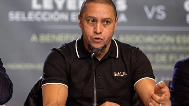 """Roberto Carlos: """"Si dependiera de mí, Neymar estaría en el Madrid hace rato"""""""
