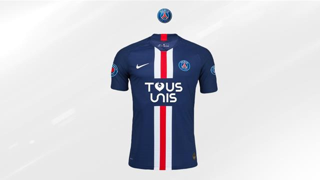 PSG sell out special jerseys, raise over €200,000 for hospitals
