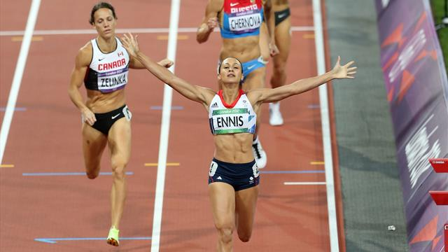'Superhuman' Jessica Ennis secures Olympic gold