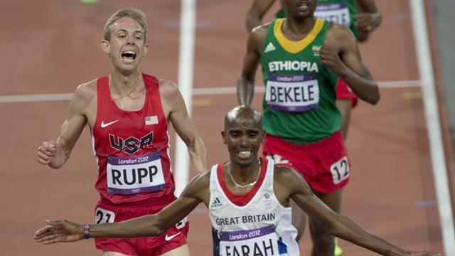 Mo Farah seals Team GB's third gold medal on an astonishing night in London