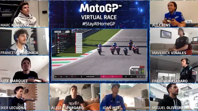Àlex Márquez se impone en la primera carrera virtual de MotoGP