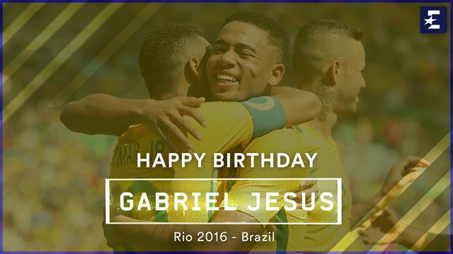 Hoy cumple años... Gabriel Jesús: Estrella del City de Guardiola y un golazo de regalo