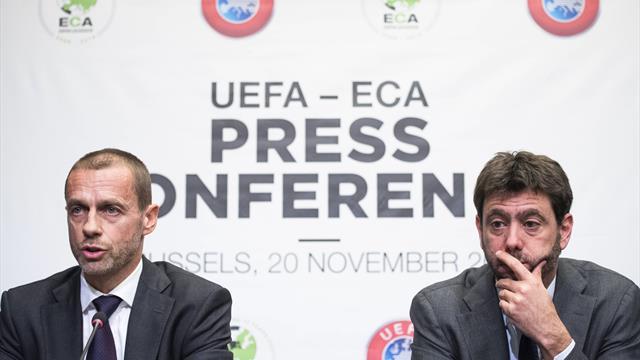Uefa, lettera sui calendari 2020: