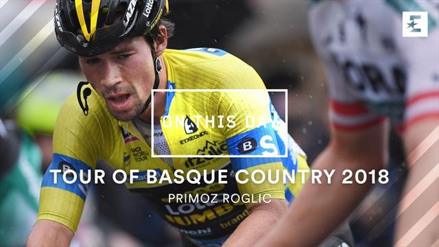 Tal día como hoy: La primera victoria profesional de Enric Mas, en la Vuelta al País Vasco 2018