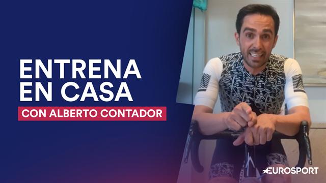 No te pierdas la última clase de Alberto Contador: ¡a darle a las piernas!