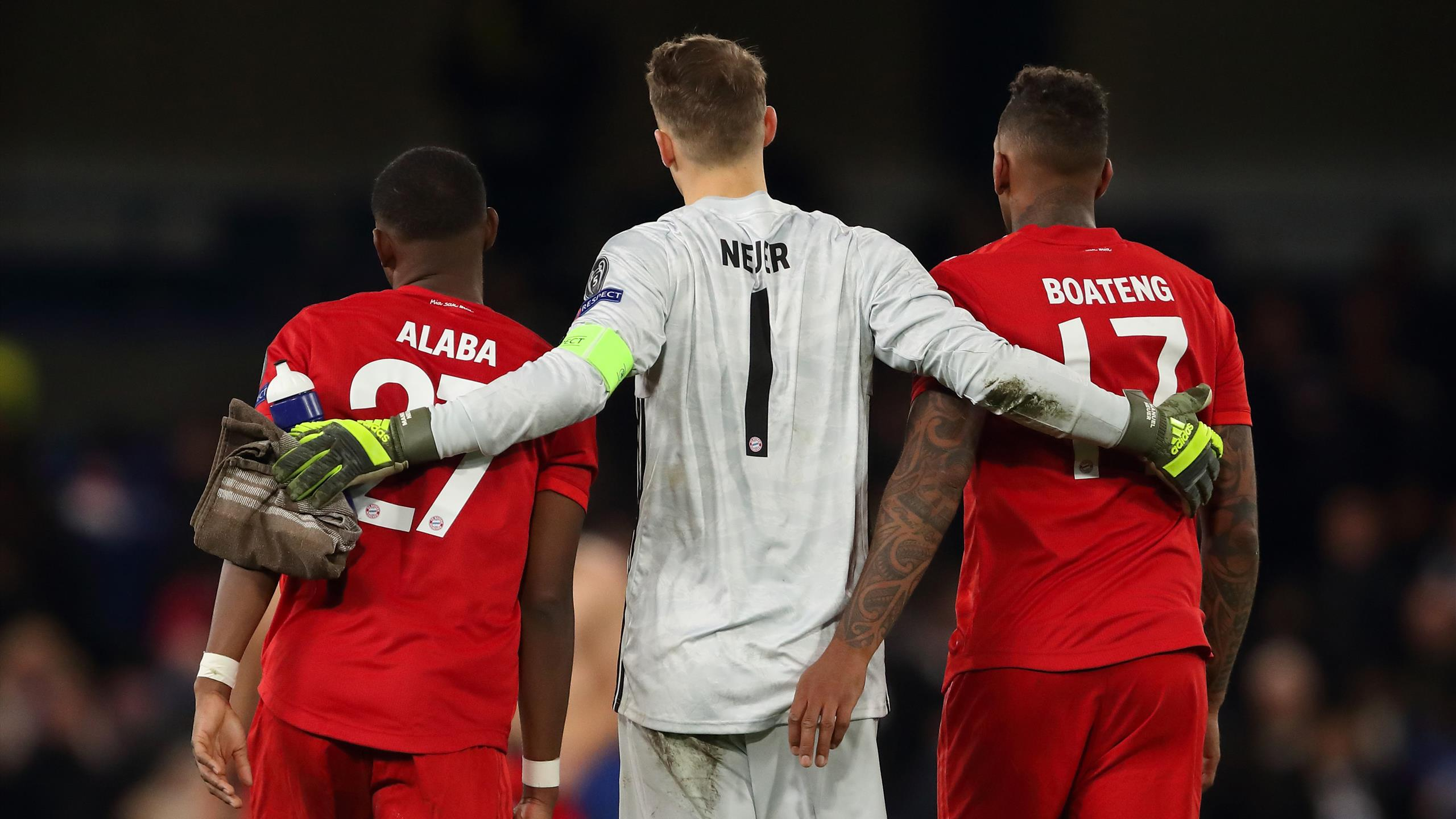 Bayerns Grundgerüst wackelt: Was wird aus Neuer, Boateng und Alaba ...