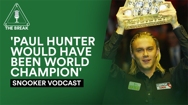 Snooker vodcast: 'We miss Paul Hunter... he would have been world champion'