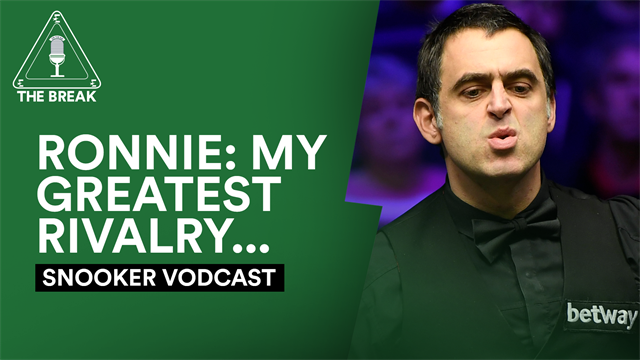 Snooker vodcast: Ronnie O'Sullivan reveals his greatest rival