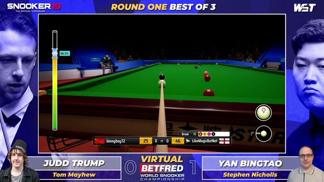 Virtual World Championship | Judd Trump vs Yan Bingtao