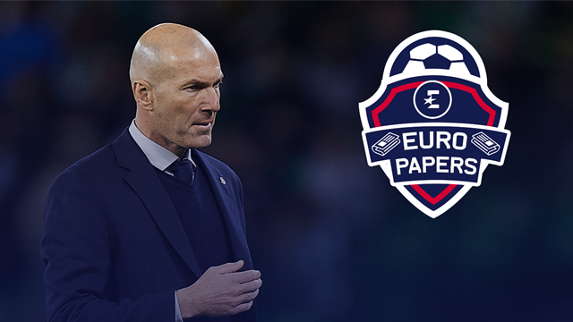 Zidane is being courted by a Serie A giant - Euro Papers