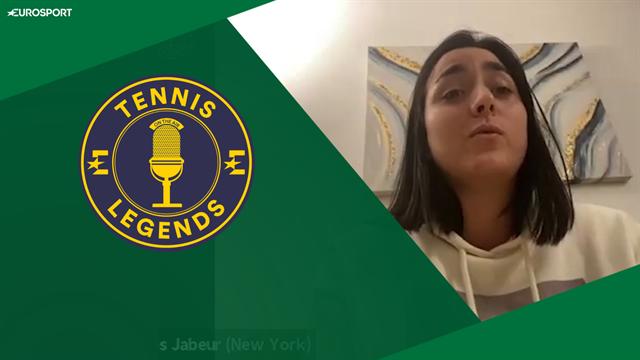 'Not a good idea to restart tennis this year' - Jabeur on Tennis Legends