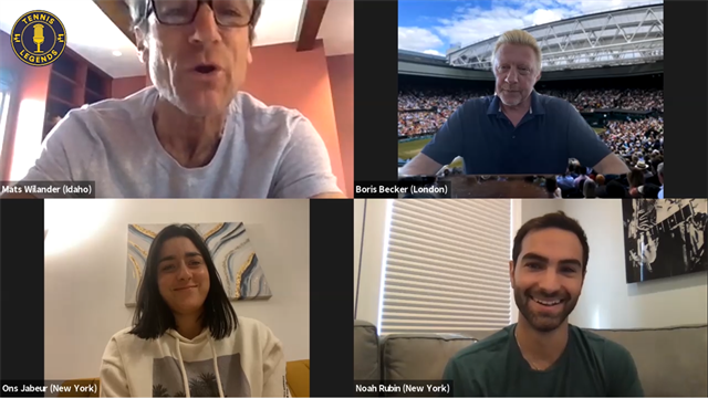 Tennis Legends vodcast: Should tennis be scrapped for the year? Rubin and Jabeur join show