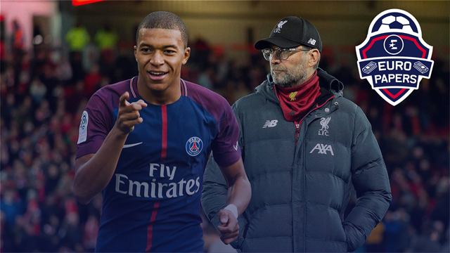 Klopp calls Mbappe's father - Euro Papers