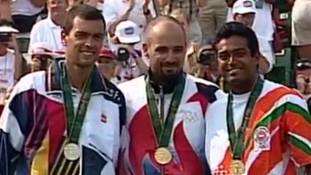 #StarsBirthday: Agassi winning gold in Atlanta 1996 - final highlights