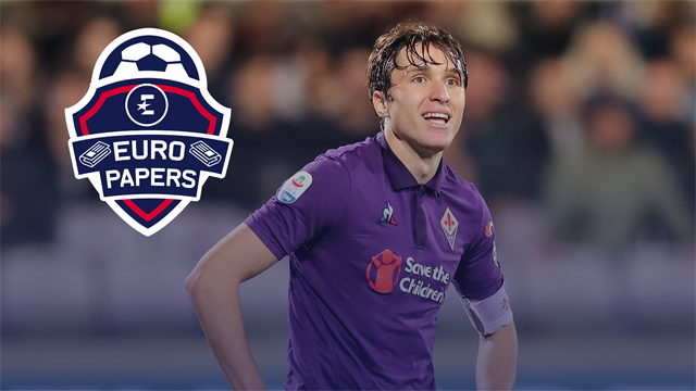 Fiorentina 'will sell Chiesa' with four clubs ready to pounce - Euro Papers