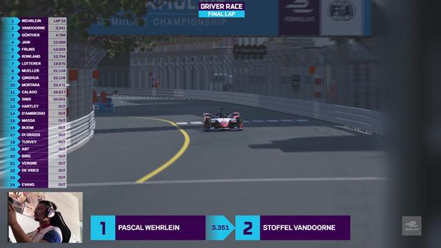 Highlights: Wehrlein avoids huge crash on opening lap to win Round 3