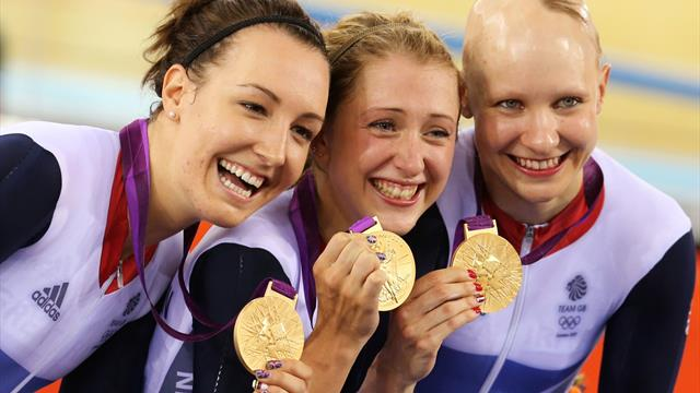 #Returnto2012 – Trott, King and Rowsell break world record again to win team pursuit