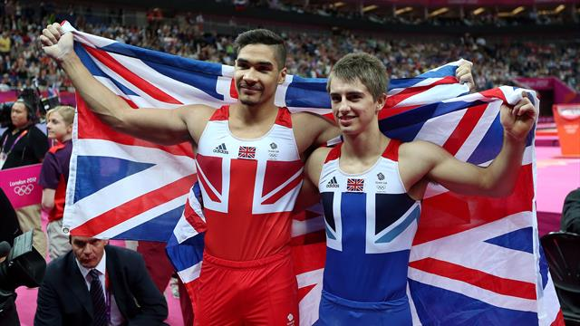 #Returnto2012 – Louis Smith and Max Whitlock medal in pommel horse