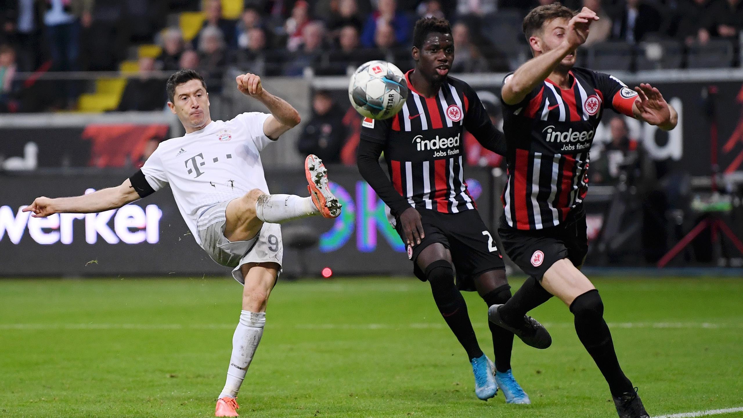 Dfb Pokal Halbfinale Bayern Gegen Frankfurt