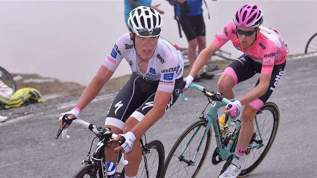 Giro Classisc: 'He really cracked after that crash' – Bob Jungels on Steven Kruijswijk