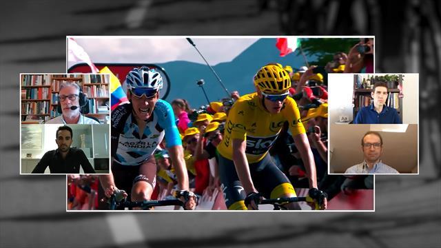"""Contador analiza el 'caso Froome' en La Montonera: """"Es impensable que este año cambie de equipo"""""""