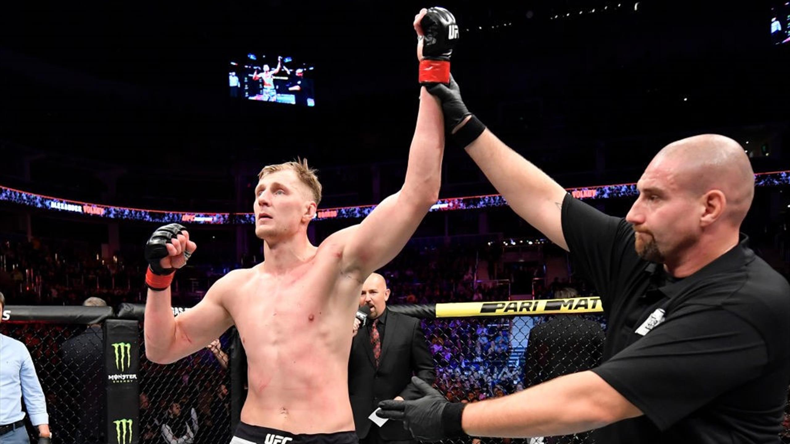 UFC отменил турнир с участием Александра Волкова - Eurosport.ru